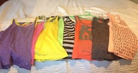 Women's/girls athletic/active sports tops. BCG, Flag Nor Fail, Under Armour Brownsville, 78520