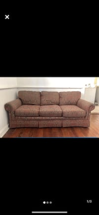 Free full size mattress/boxspring/frame, couch