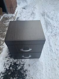 GREY SIDE TABLE - GREAT CONDITION