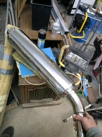Triumph motorcycle exhaust
