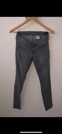 Super skinny super low rise grey denim jeans Aventura, 33180