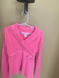 Girls size 7/8 pink sweater Centreville, 20120