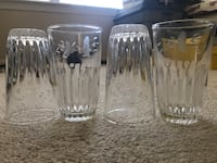 Glass cup set 160 mi