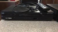 black Sony DVD player with remote Wasaga Beach, L9Z 2J8