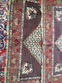 Red, white, and black floral area rug Toronto, M2N 2B9