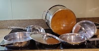 Martha Stewart pots and pans (cookware), in good cond. TORONTO