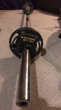 Barbell with weights Meriden, 06450