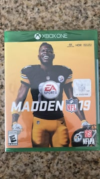 NFL MADDEN 19 Xbox One Brand New In Box  North Las Vegas, 89084