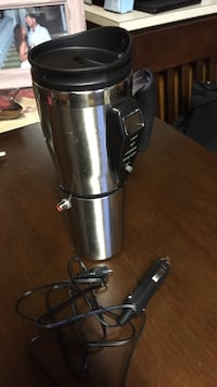 stainless steel heated travel mug  Park Ridge, 07656