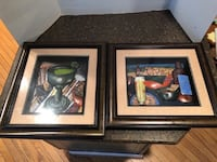 Set of 2 Decorative  framed pictures 16x14 $9 for all Manassas, 20112