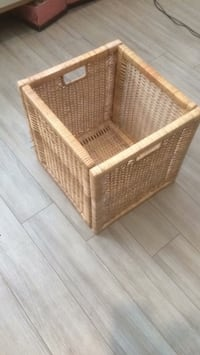 brown wicker basket with lid Edmonton, T5T 1R7