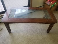 coffee table with glass top WESTDESMOINES