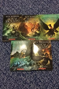 Percy Jackson Complete Book Series