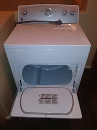 White front load clothes dryer and top load washer Wildomar, 92595