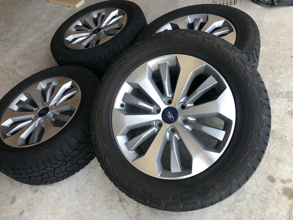 2018 Ford F-150 wheels and tires