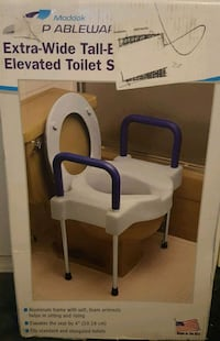 Brand New Extra Wide Tall Elevated Toilet Seat Palmdale, 93551