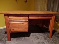 Solid Oak Desk Laurel