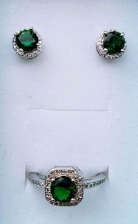 Cushion cut emerald and diamond ring Baltimore, 21224