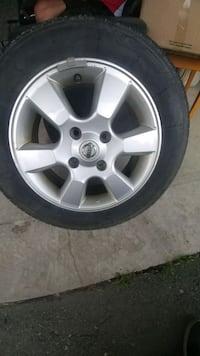 black auto wheel with tire set Barrie, L4N 0L6