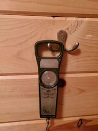 Vintage scale and tape measure