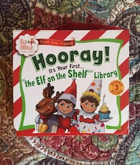 Elf on the Shelf Library for Toddlers 22 km