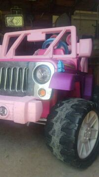 Jeep - Grand Barbie - Clean Battery