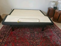 white and black wooden bed frame West Orange, 07052