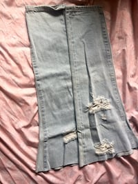 Scrap distressed denim Edmonton, T6E 1Y6
