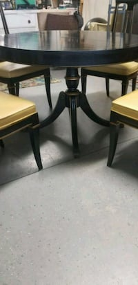 VINTAGE~ Drexel Solid Wood Table and Four Chairs Swannanoa, 28778