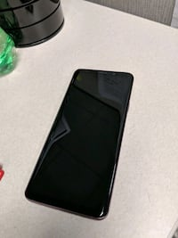 black Android smartphone with black case Ajax, L1Z