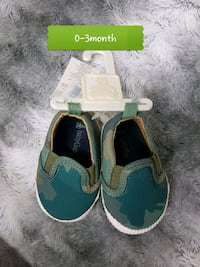 toddler's pair of green shoes Brampton, L6T 4R1