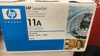 Hp laserjet print cartridge box