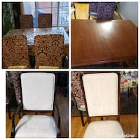 Dining table with 6 chairs  Montréal, H4M 1S4