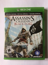 Xbox One Special Edition Assassin's Creed IV Black Flag Mississauga, L4T 1X6