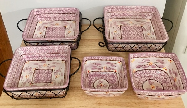 Temptations 10 Piece Oven To Table Bakeware