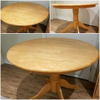 Solid wood Kitchen dining table Mississauga, L4Z 3X3