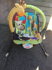 baby's multicolored bouncer Welland, L3C 6S5