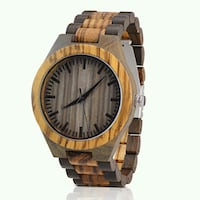New Wooden watch London, N5V 0A3