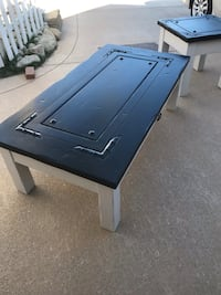 black and blue wooden table Lake Elsinore, 92530