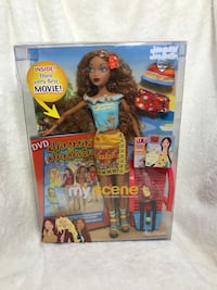 Barbie My Scene Madison Jammin' in Jamaica 2003 comes with DVD (D-1)
