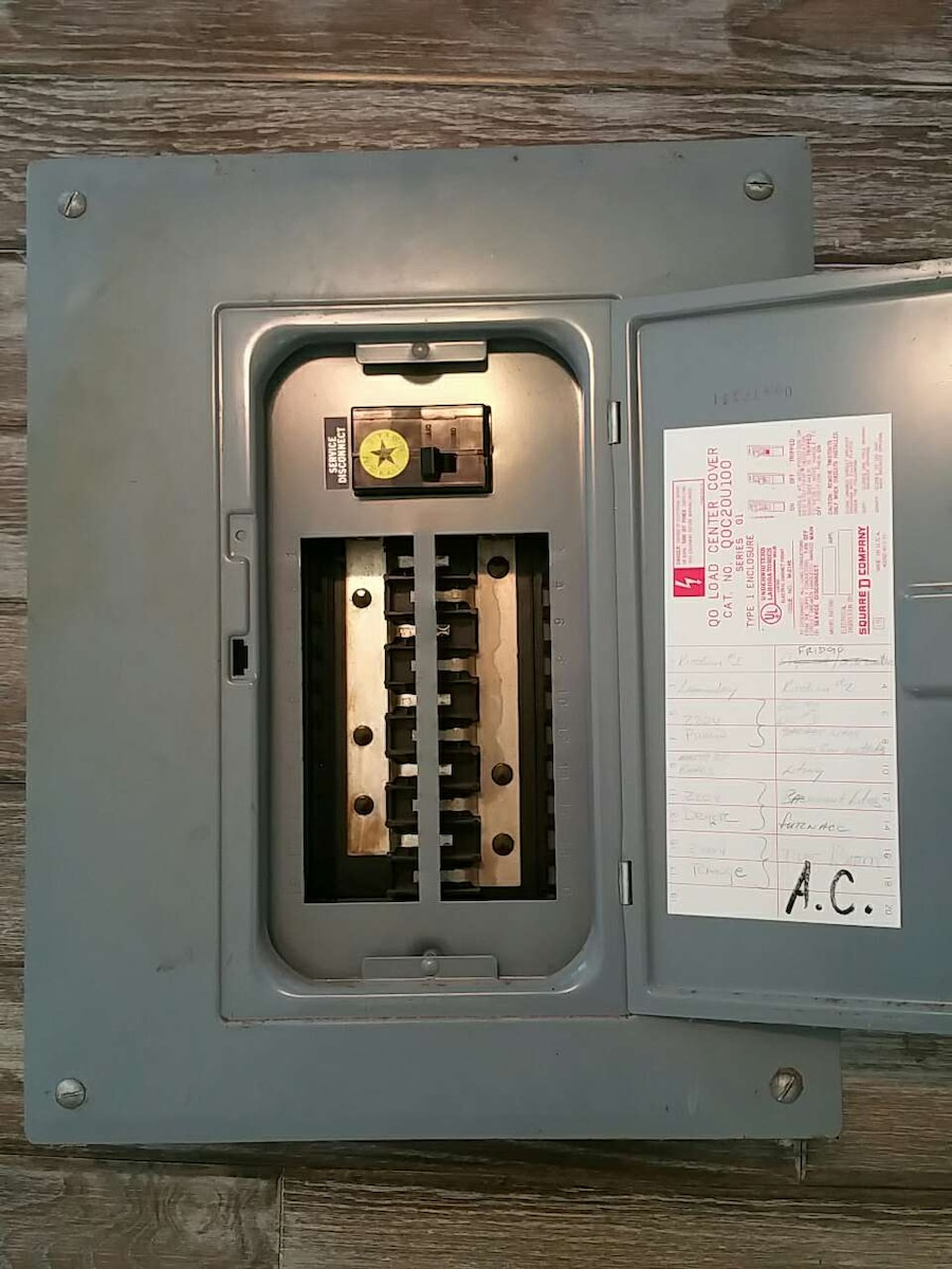 100 Amp Service Fuse Box Electrical Wiring Diagram Used For Sale In Traverse City Letgo 80