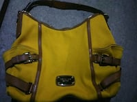 Xlg yellow cloth coach handbag Dayton, 45414
