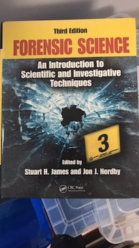 Forensic Science Textbook Mississauga, L5W 1H2