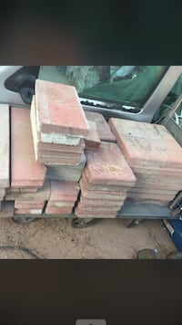 Pavers stones red all for $45 Las Vegas, 89103