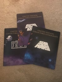 Limited Edition Collectible lithograph Star Wars  15 mi