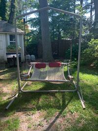 Metal swing stand from Nags head hammocks for sale. Swing not included. Portsmouth, 23703