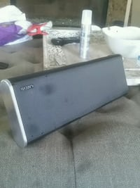 black and gray Sony soundbar Burlingame, 94010