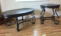 Leather & Iron Old World Charm Coffee & End Table Phoenix, 85013