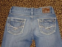 "BKE The Buckle Sz. 0/24 ""Reese"" Embellished Cropped Denim Capris Jeans Oklahoma City, 73012"