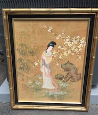 Oriental Artwork 5 pieces